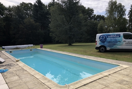 recherche fuites d'eau piscine