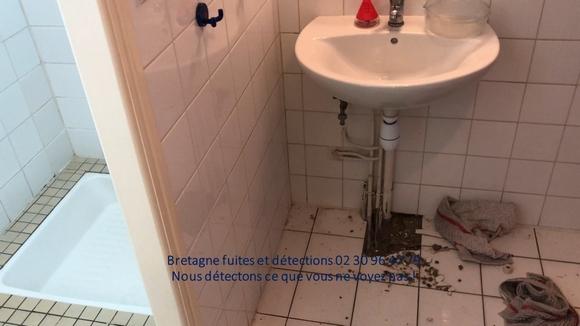 recherches fuite d'eau Bretagne